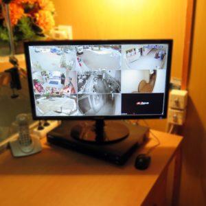kamerový systém pro střední školu