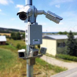 solarni elektrarna kamery