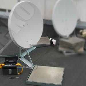 umisteni satelitu na rovnou strechu